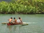 summer river scene