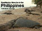 roadblocks more fun in the philippines