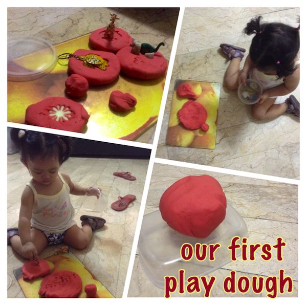 first play dough