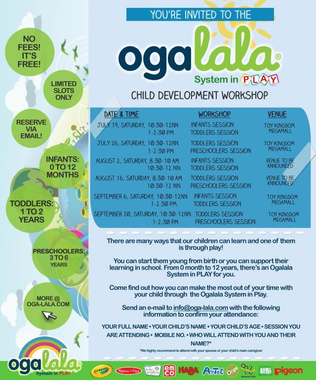 Ogalala schedule - Jul-Sep